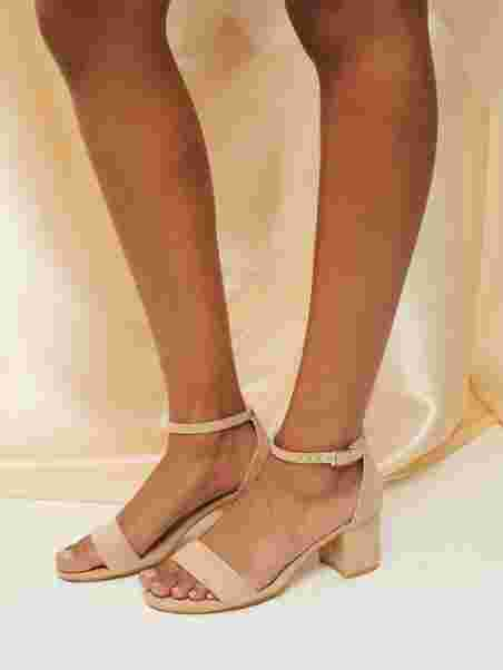 Low Block Heel Sandal, NLY Shoes