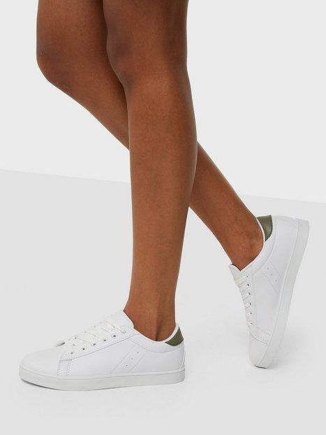 NLY Shoes Sneaker Low Top Hvid/Grøn