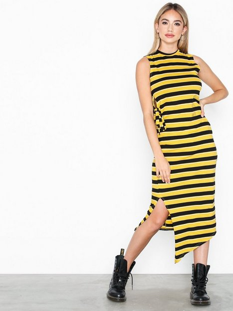 Cheap Monday Curle Stripe Dress Fodralklänningar