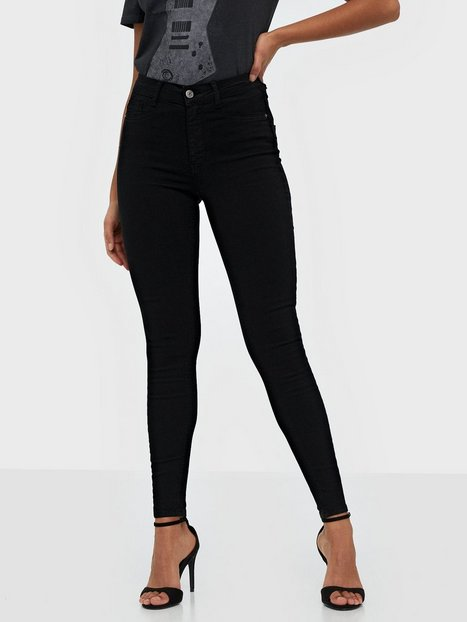 Gina Tricot Molly High Waist Jeans Skinny fit Black
