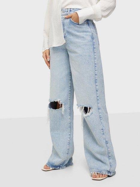 Gina Tricot Idun Wide Jeans Blue Lagoon