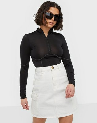 Gina Tricot Cargo Denim Skirt Mini nederdele