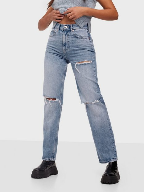 Gina Tricot 90s High Waist Jeans Straight fit Vintage