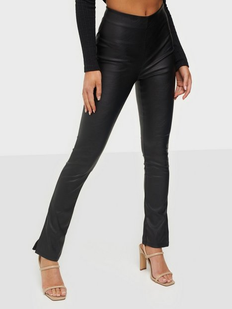 Gina Tricot Alma PU Trousers Bukser