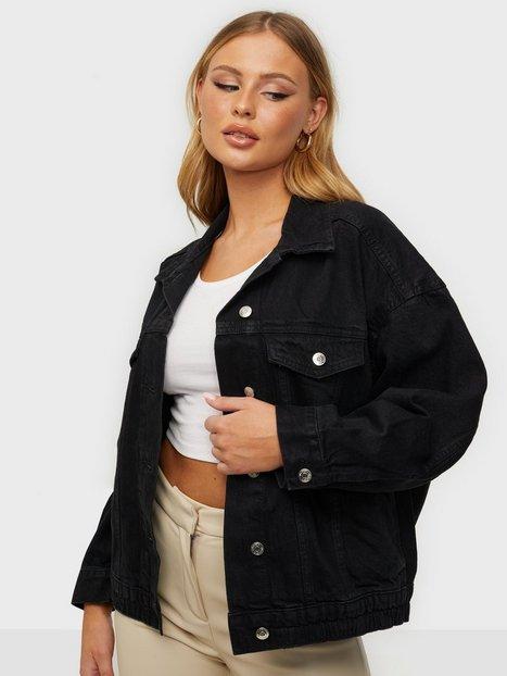 Gina Tricot 90s denim jacket Offblack