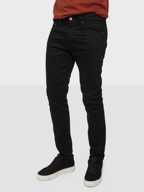 Levis 512 Slim Tapered Jeans Sort - herre