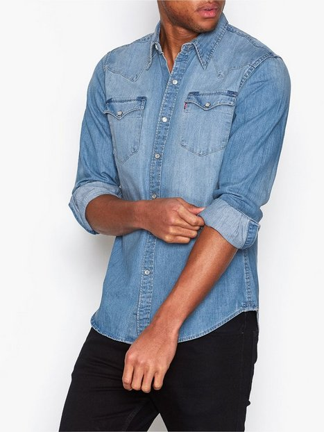 Levis Barstow Western Shirt Skjortor Indigo