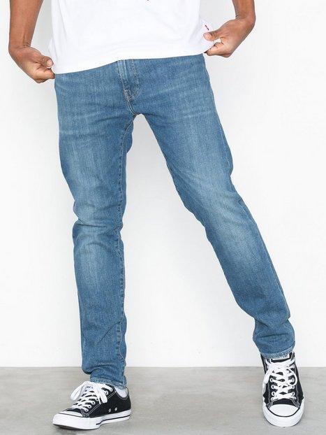 Levis 512 Slim Taper fit 4 Leaf Jeans Blå - herre