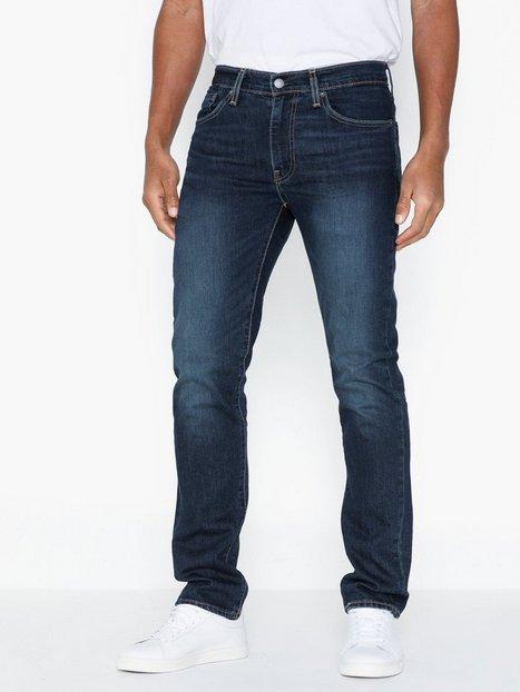 Levis 511 Slim Blue Canyon Dark Jeans Indigo - herre