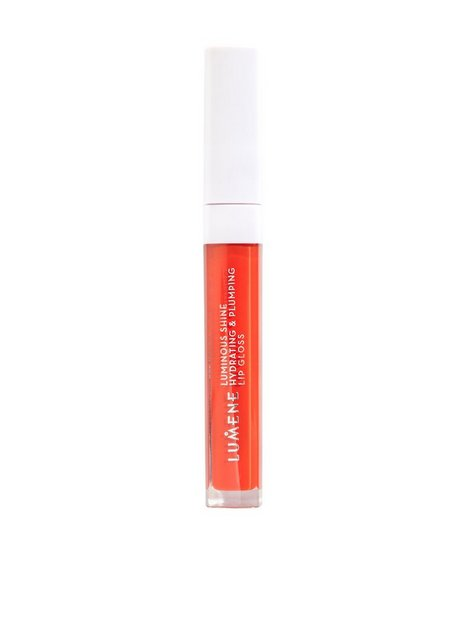 Lumene Luminous Shine Hydrating & Plumping Lip Gloss Lipgloss Bright Coral