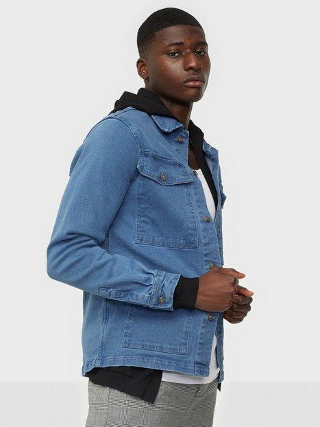 Denim Project Denim Over Skjorter Medium Blue