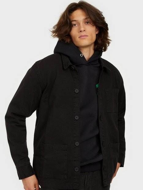 Denim Project Chino Jacket Skjorter Black