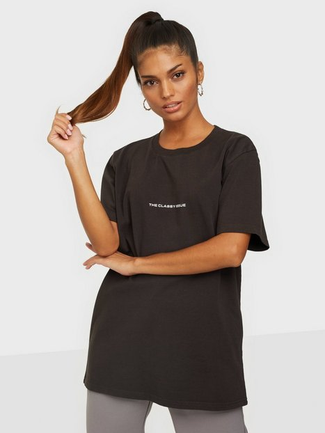 THE CLASSY ISSUE Logo Tee T-shirts Black