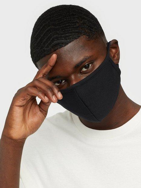 Denim Project Mask 10 Pack Øvrige accessories Black