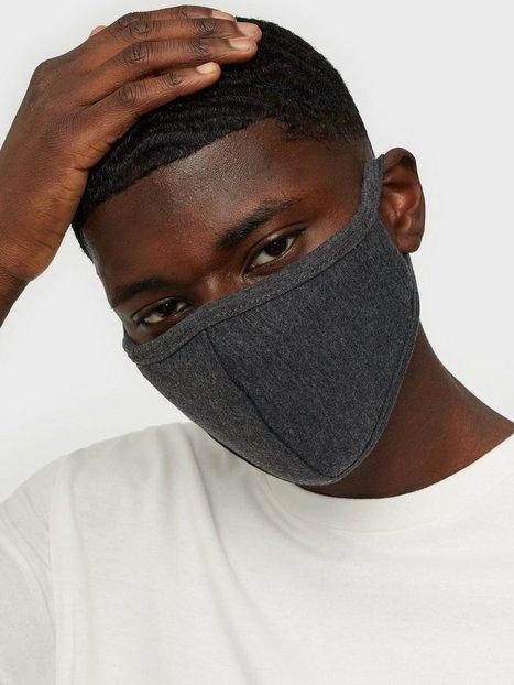 Denim Project Mask 10 Pack Øvrige accessories Dark Grey Melange
