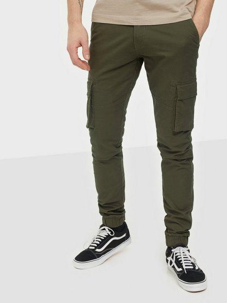 Denim Project Cargo Pant Bukser Green