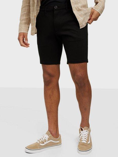 Denim Project Ponte Shorts Shorts Black