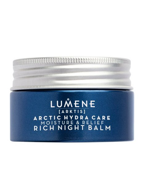 Lumene Arctic Hydra Care Moisture & Relief Rich Night Balm Natcremer