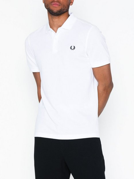 Fred Perry Plain FP Shirt Polotrøjer White