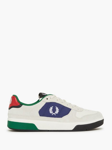 Fred Perry B7209 Suede Sneakers White mand køb billigt