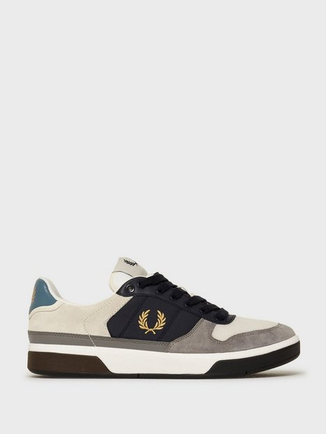 Fred Perry B300 Lthr Suede Poly Sneakers Porcelain mand køb