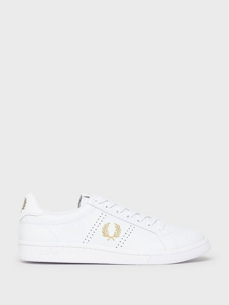 Fred Perry B721 Leather Sneakers White