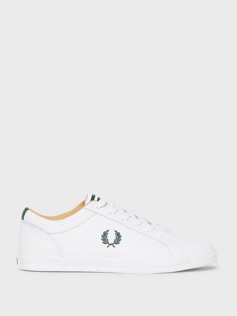 Fred Perry Baseline Leather Sneakers White