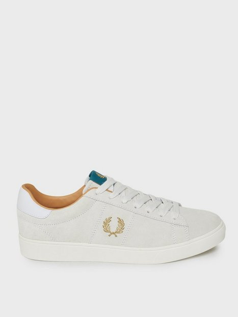Fred Perry Spencer Suede Sneakers White