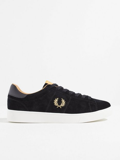 Fred Perry Spencer Suede Sneakers Black