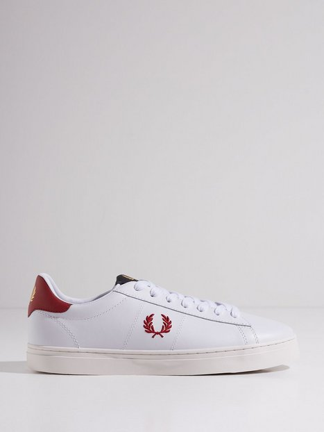 Fred Perry Spencer Vulc Lthr Sneakers White