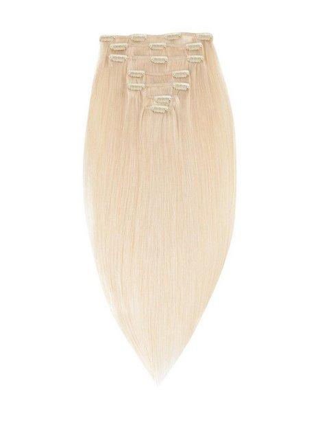 Rapunzel Of Sweden 50 cm Clip-On Set Original 7 pieces Hair extensions Light Blond