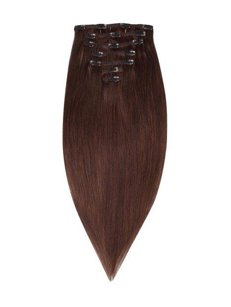 Rapunzel Of Sweden 50 cm Clip-On Set Original 7 pieces Hair extensions Chocolate Brown