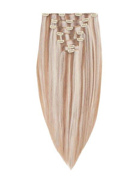 Rapunzel Of Sweden 50 cm Clip-On Set Original 7 pieces Hair extensions Cendre Ash Blond Mix
