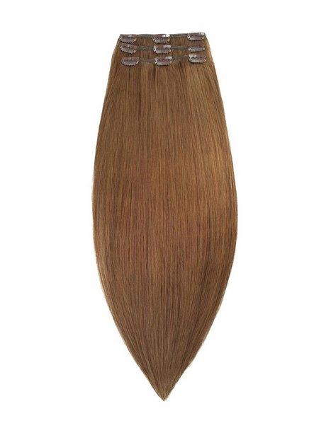 Rapunzel Of Sweden 50 cm Clip-on set Original 3 pieces Hair extensions Brown