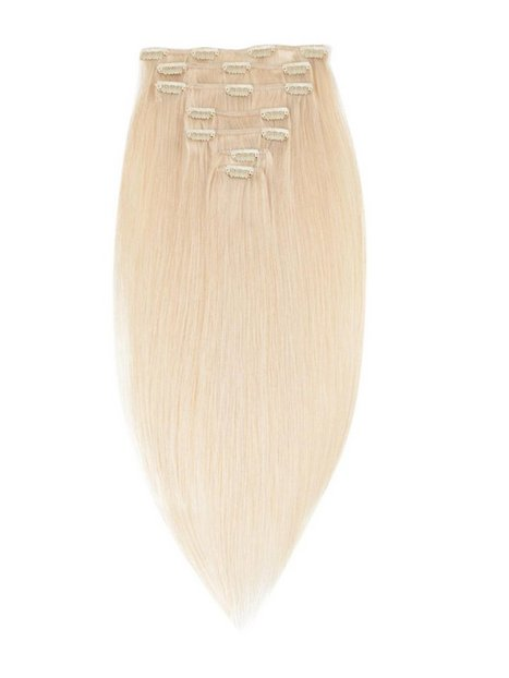Rapunzel Of Sweden 40 cm Clip-on set Original 7 pieces Hair extensions