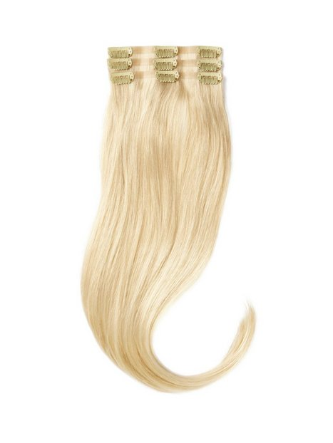 Rapunzel Of Sweden Sleek Clip-on set 3 pieces 50 cm Hair extensions