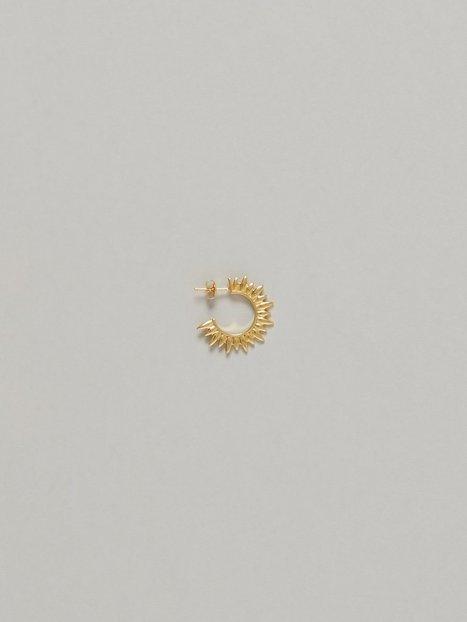 Blue Billie Sun Hoop Earring Örhängen Guld