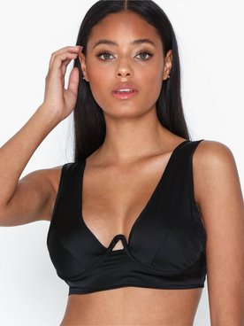 Missguided Satin Cut Out Bralet BH