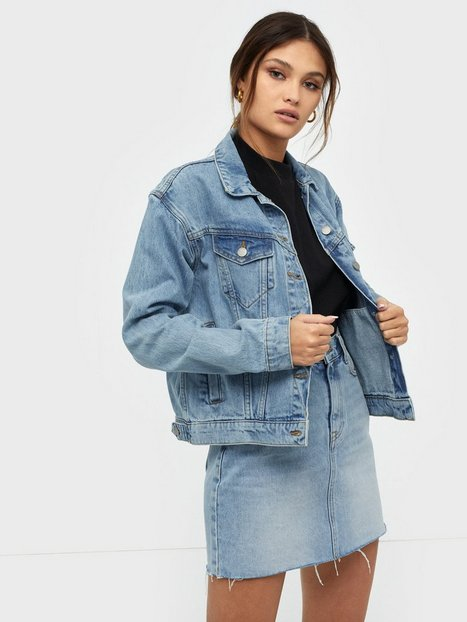 Dr Denim Alva Trucker Jacket Blue
