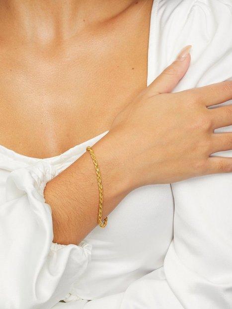 Blue Billie Thick Rope Bracelet Armband