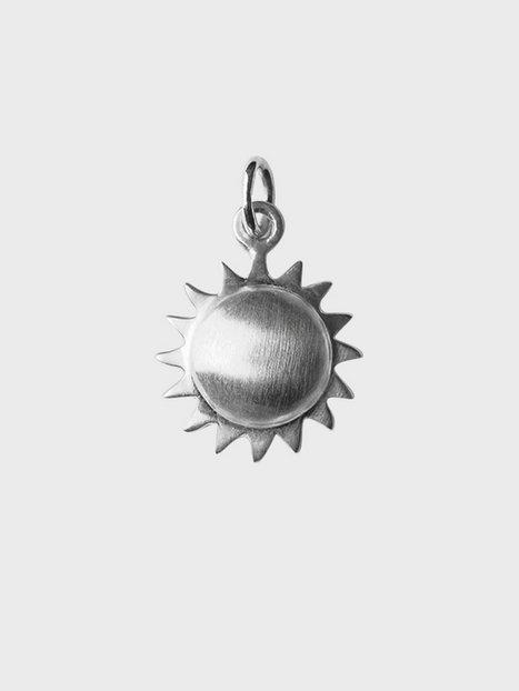 Blue Billie Mini Sun Hängsmycken Silver