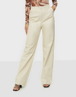 Missguided PU Faux Leather Trouser Bukser