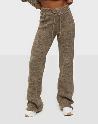 Casall Knitted Melange Pants Sweatpants