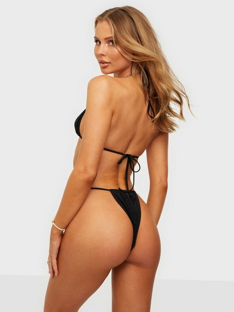 Missguided Itsy Bitsy Bikini Bottom Trusser Black