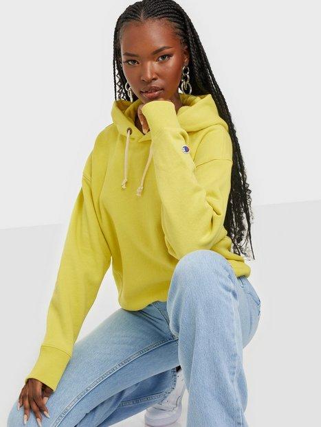 Champion Reverse Weave Hooded Sweatshirt Hoodies Yellow