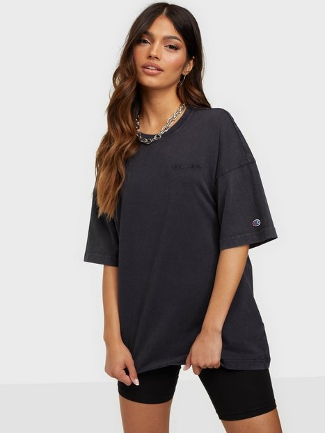 Champion Reverse Weave Crewneck T-Shirt T-shirts Navy