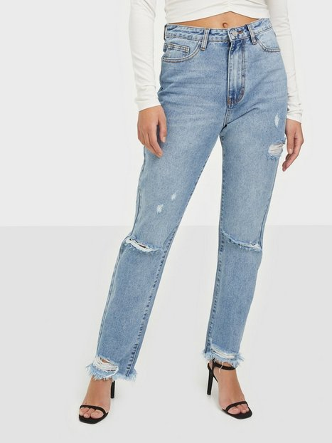 Missguided Highwaisted Straight Tight Jeans