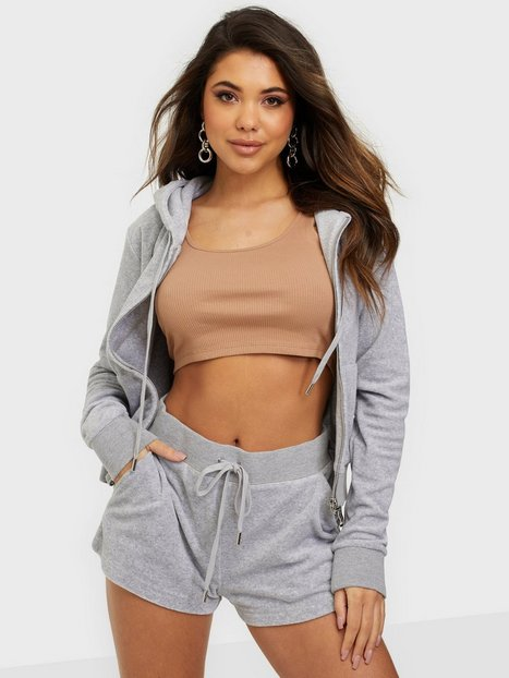 Juicy Couture Eve Towelling Shorts Sølv