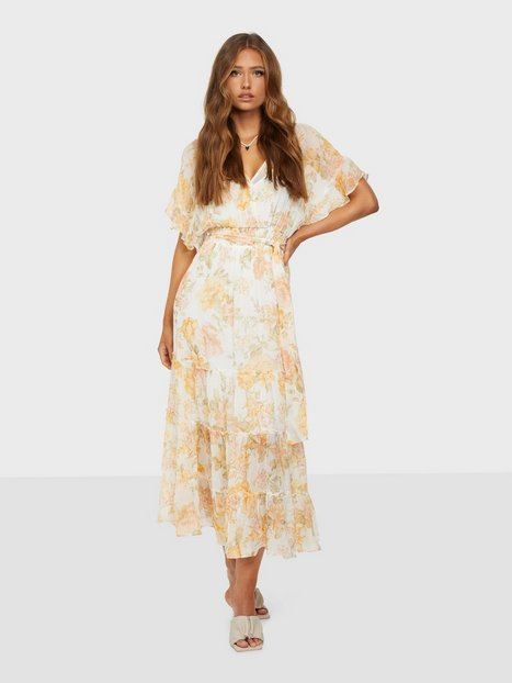 Forever New Rosemary Ruffle Midi Dress Skater kjoler