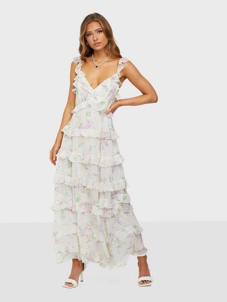 Forever New Joyce Ruffle Midi Dress Maxikjoler